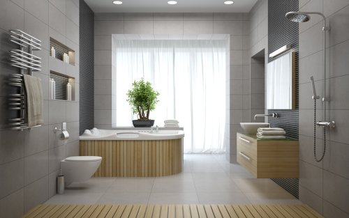 new - bathroom